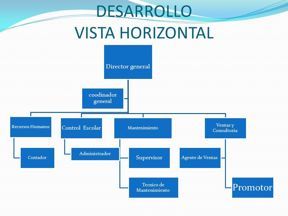 DESARROLLO VISTA HORIZONTAL