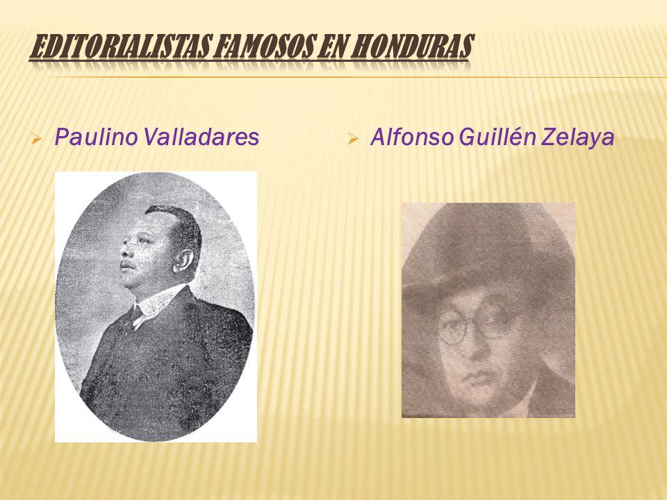 Editorialistas Famosos en Honduras