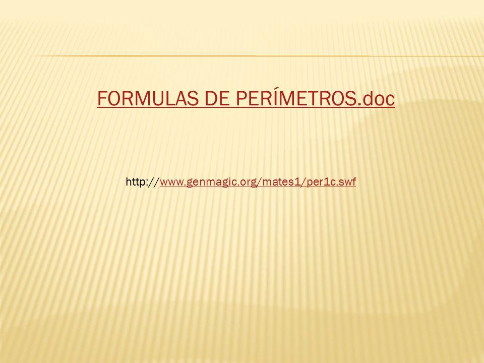 FORMULAS DE PERÍMETROS.doc