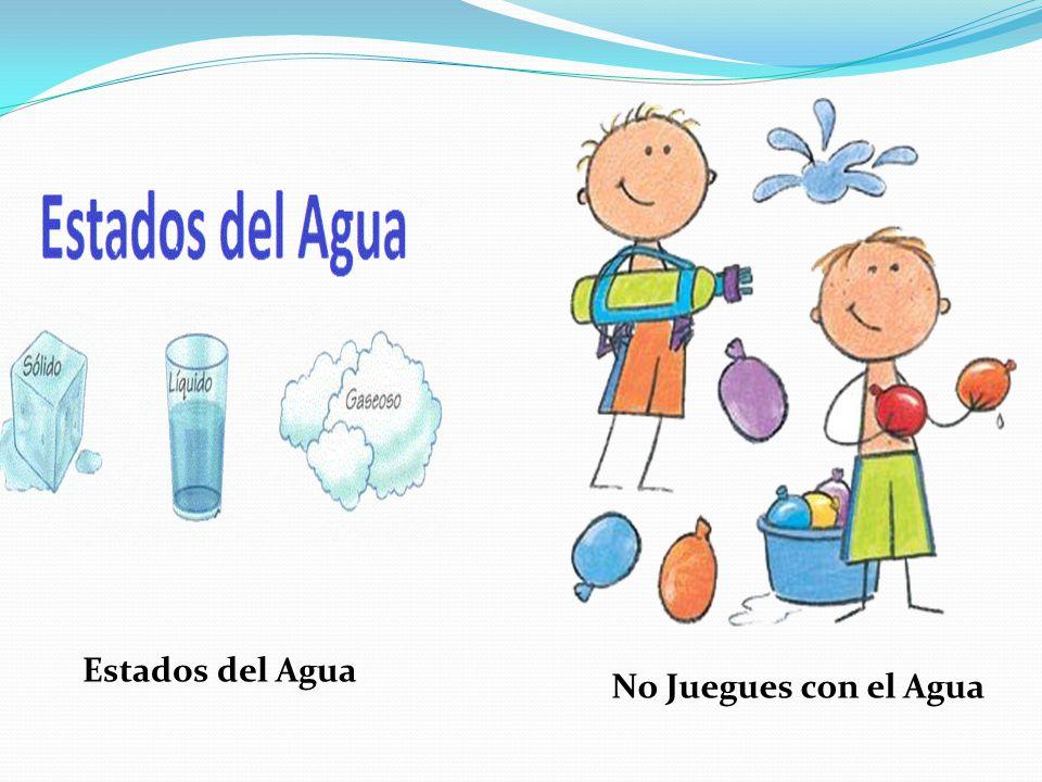 Estados del Agua No Juegues con el Agua