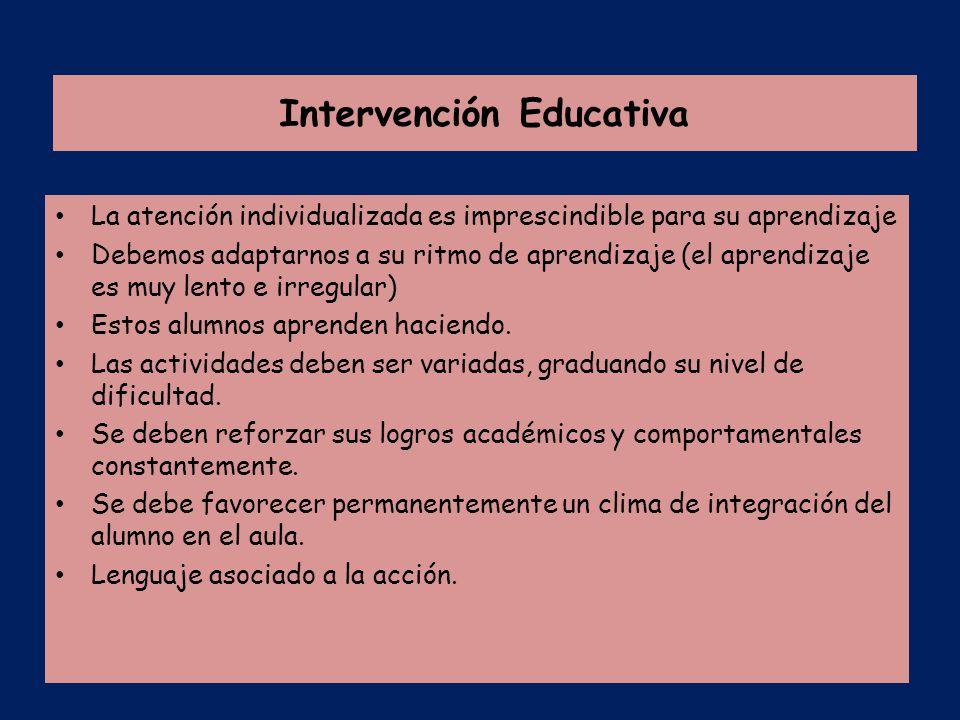 Discapacidad intelectual ppt descargar for La accion educativa en el exterior