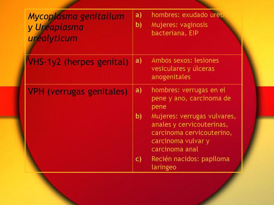 Mycoplasma genitalium y Ureaplasma urealyticum
