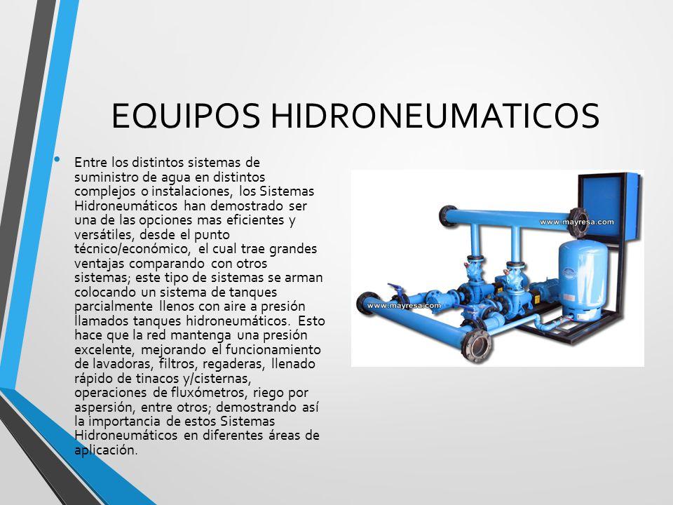 Trabajo no 2 equipos hidroneumatico ppt descargar for Cilindro hidroneumatico