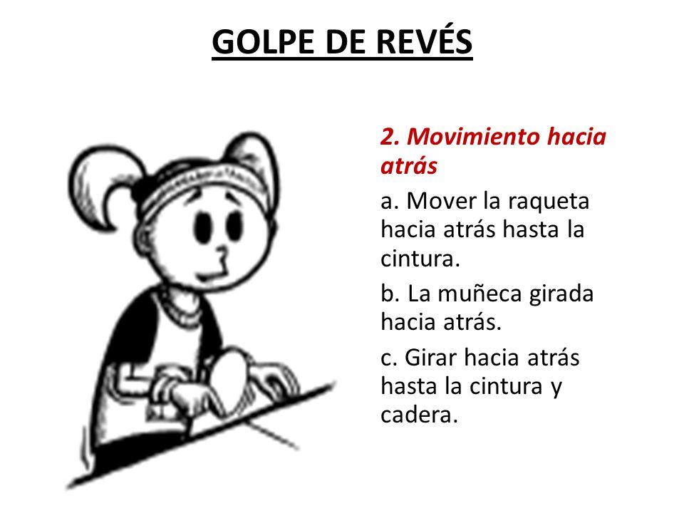 GOLPE DE REVÉS 2. Movimiento hacia atrás