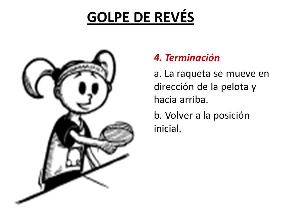 GOLPE DE REVÉS 4. Terminación