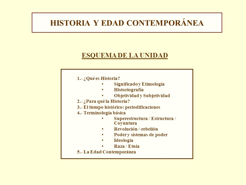 Historia y edad contempor nea ppt video online descargar for Caracteristicas de la contemporanea