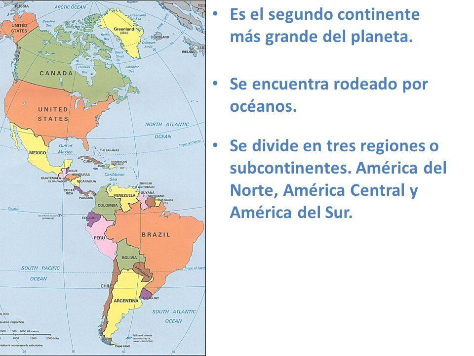 Generalidades De Los Continentes: Características Generales Del Continente Americano