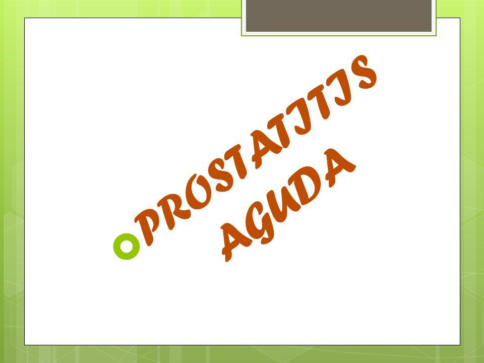 PROSTATITIS AGUDA