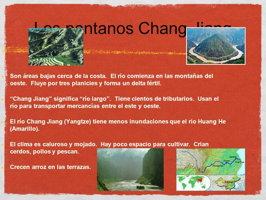 Los pantanos Chang Jiang