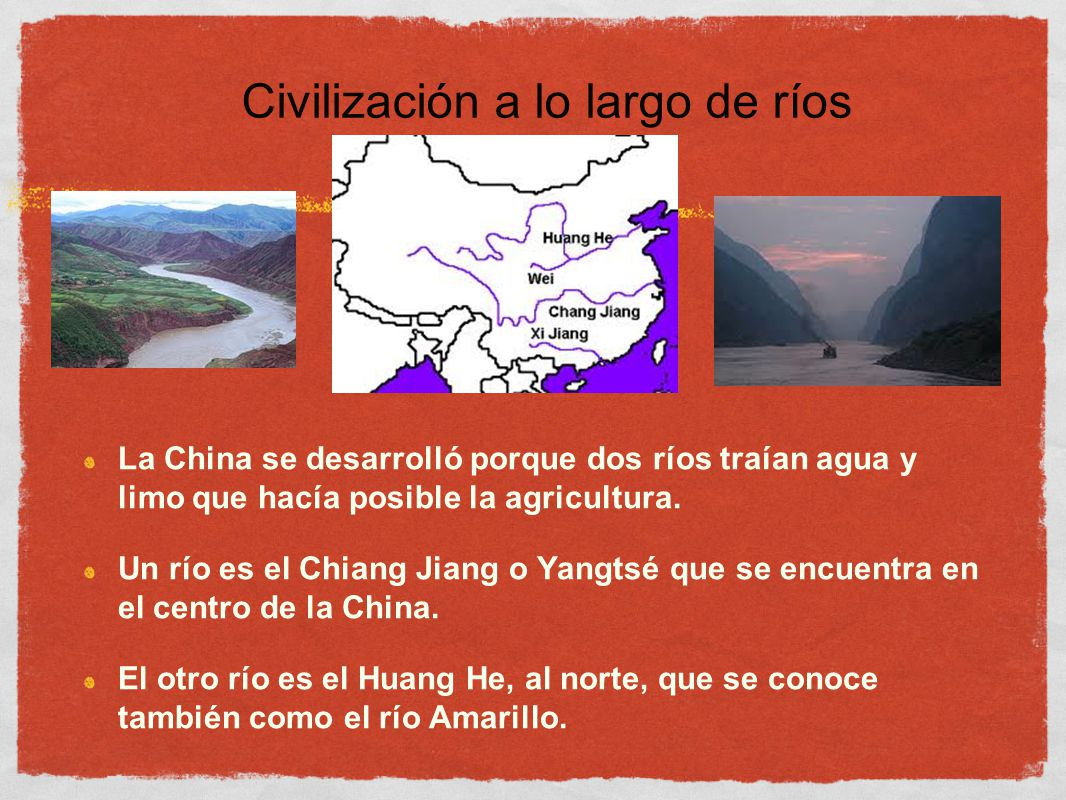Civilización a lo largo de ríos