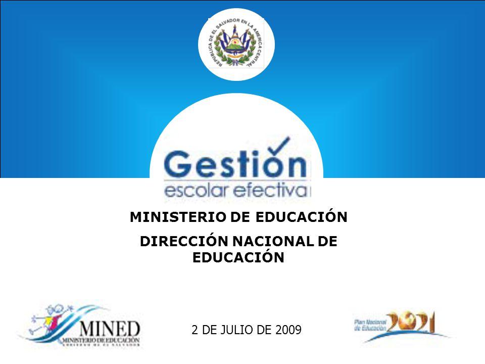 Ministerio de educaci n direcci n nacional de educaci n for Ministerio de educacion plazas