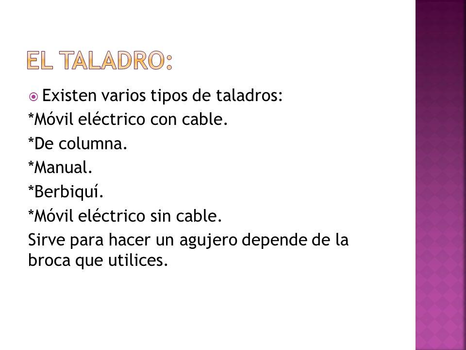 Las m quinas y herramientas ppt descargar for Taladro electrico sin cable
