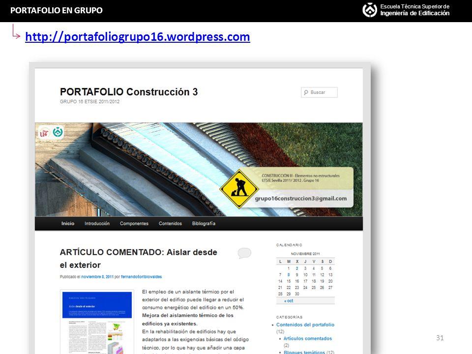 http://portafoliogrupo16.wordpress.com PORTAFOLIO EN GRUPO