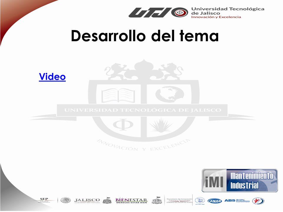 Desarrollo del tema Video