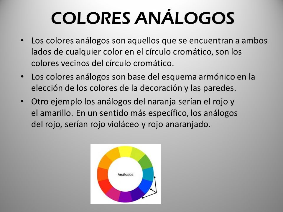Teor a del color ppt video online descargar - Complementario del naranja ...