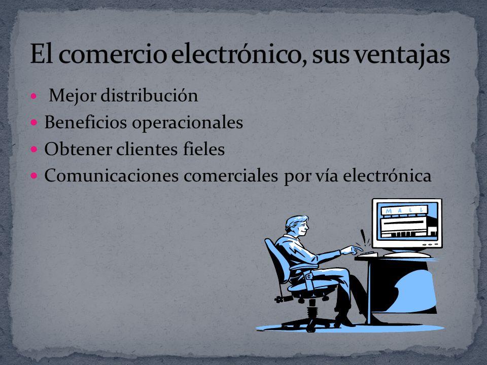 El comercio electrónico, sus ventajas