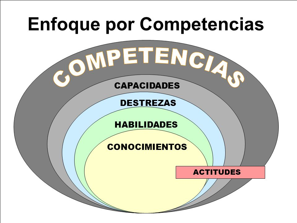 Enfoque por Competencias