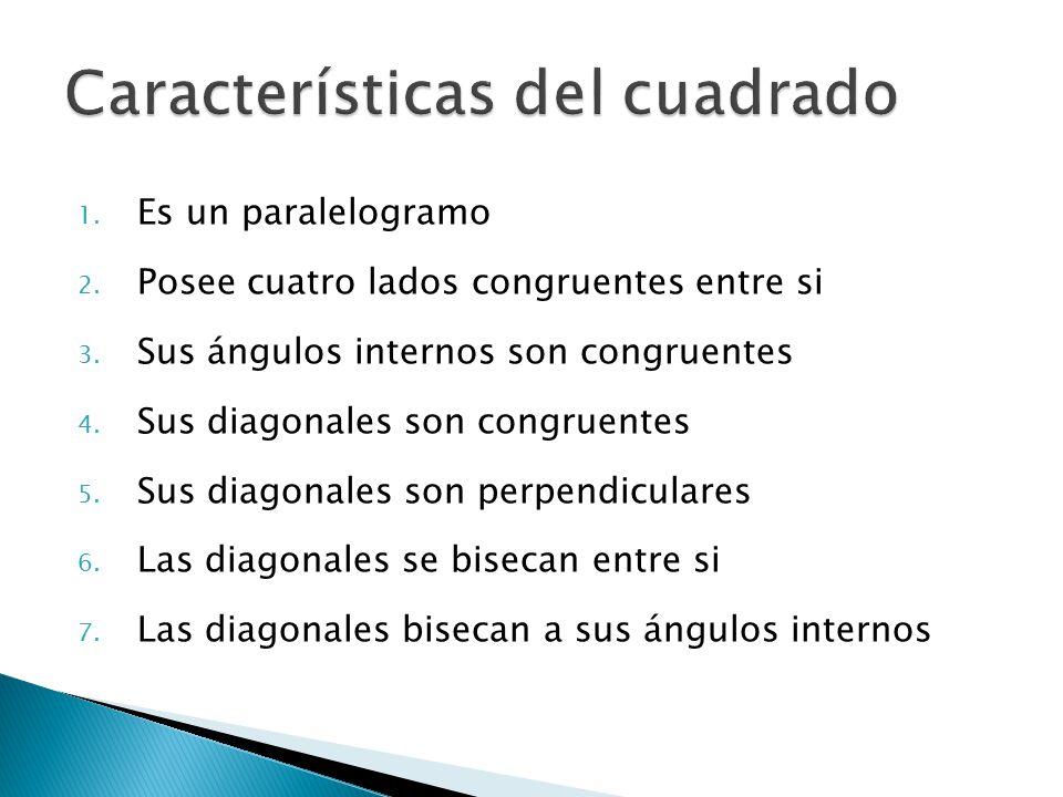 Características del cuadrado
