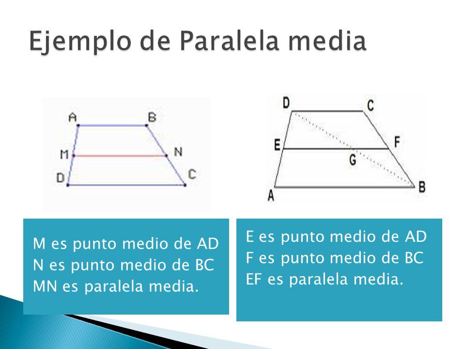 Ejemplo de Paralela media