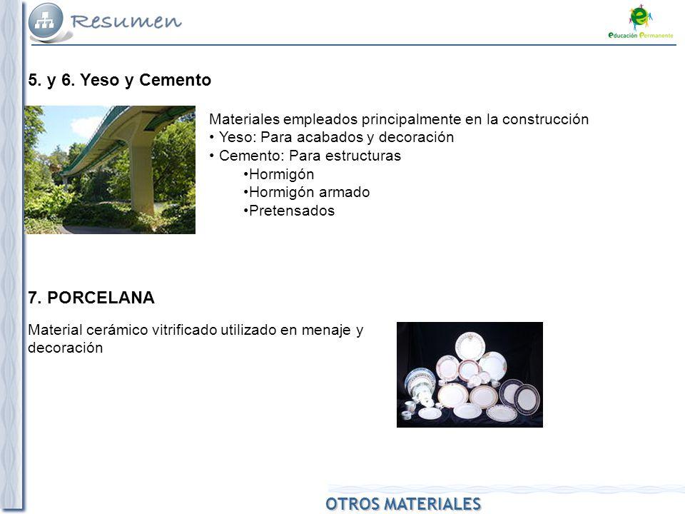 Materiales otros materiales ppt descargar - Utilidades del yeso ...