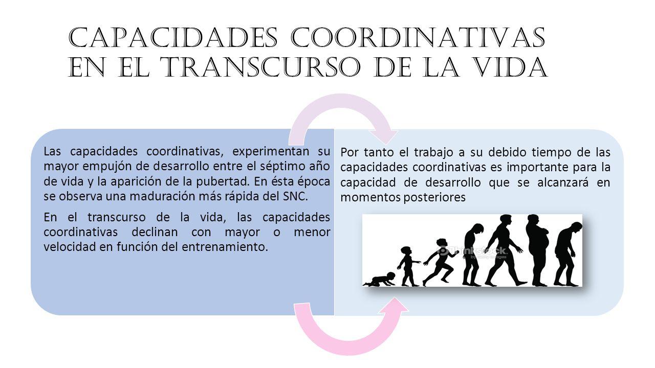 Capacidades coordinativas en el transcurso de la vida