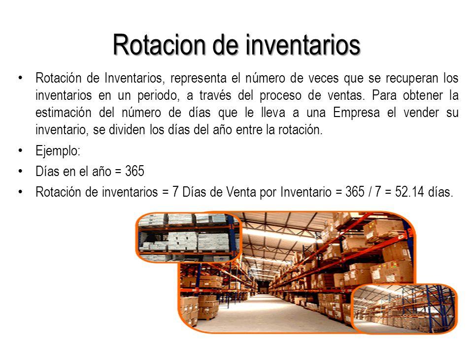 Rotacion de inventarios