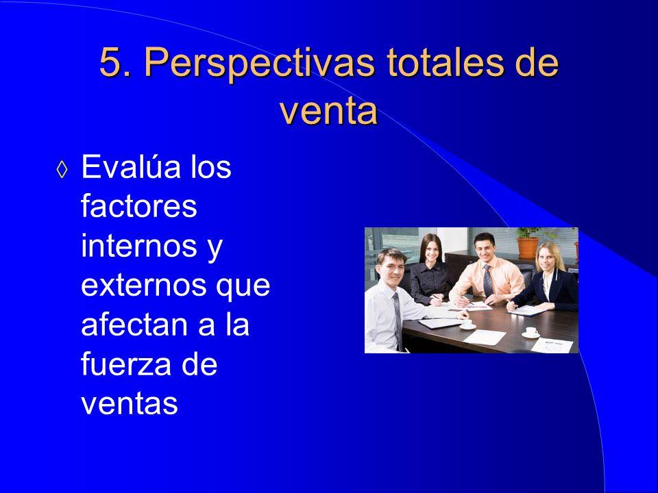 5. Perspectivas totales de venta