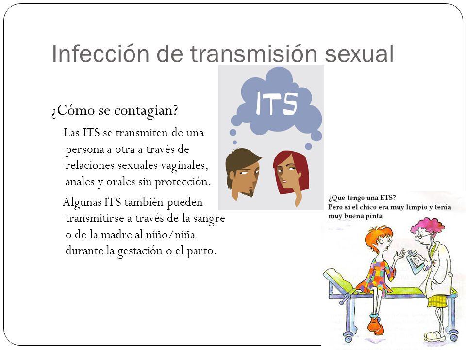 Infección de transmisión sexual