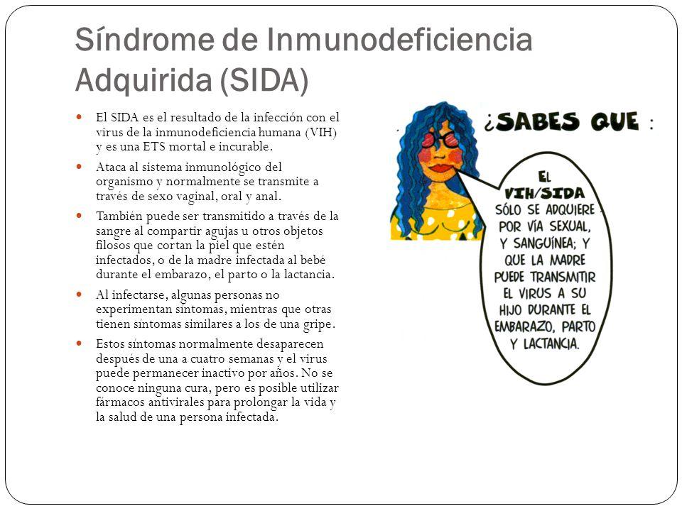 Síndrome de Inmunodeficiencia Adquirida (SIDA)