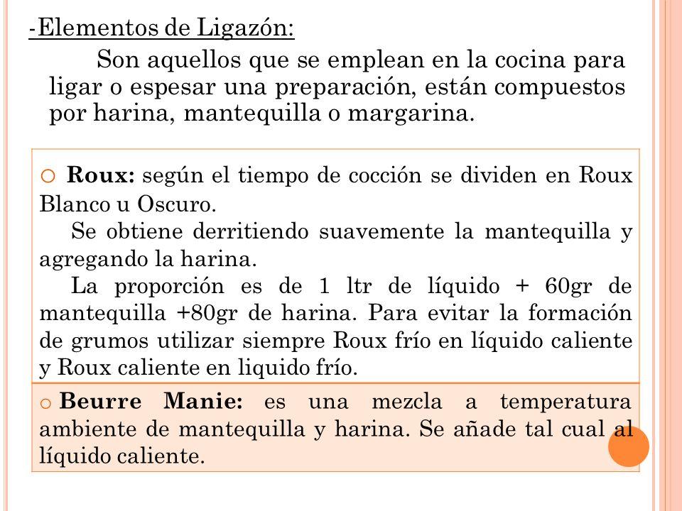 Tecnicas de cocina iii ppt descargar for Elementos de cocina para chef