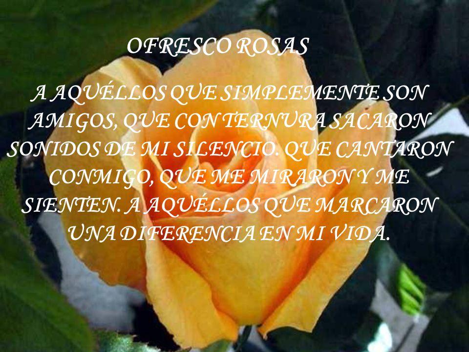 OFRESCO ROSAS
