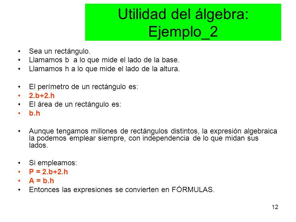 Utilidad del álgebra: Ejemplo_2