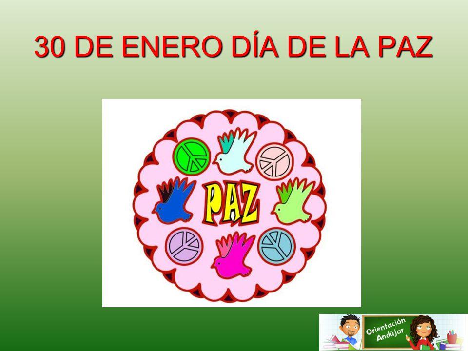 Día De La Paz 30 De Enero De 2007: 30 DE ENERO DÍA DE LA PAZ.