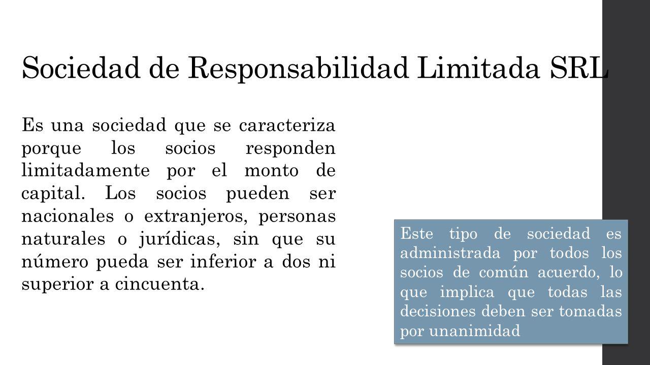 Sociedad de Responsabilidad Limitada SRL