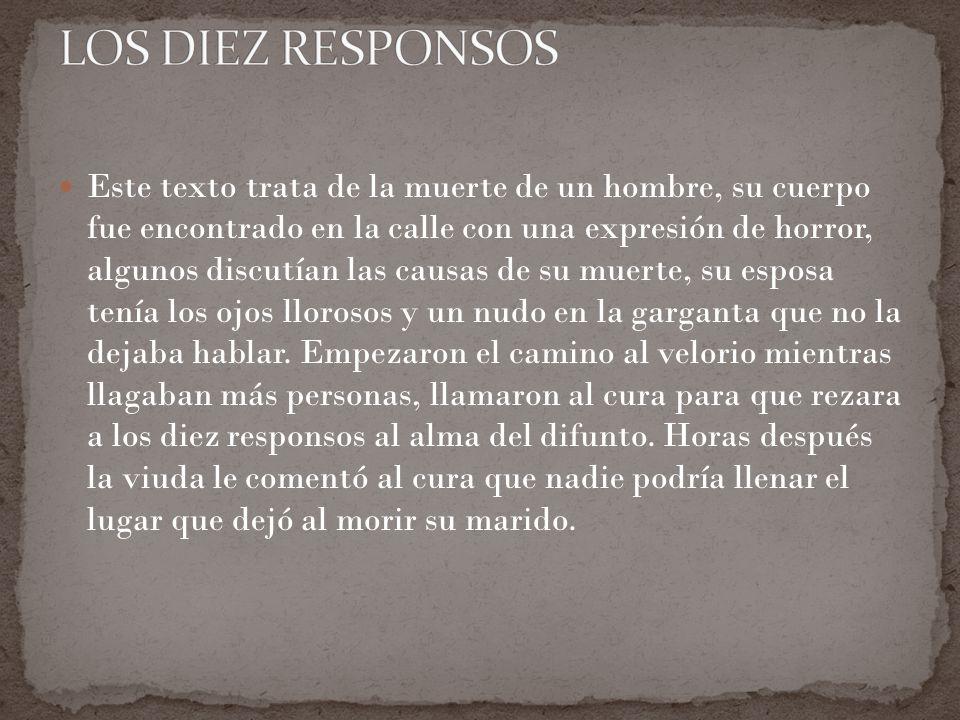 LOS DIEZ RESPONSOS