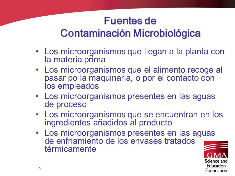 Sanitizaci n en las plantas envasadoras de alimentos ppt descargar - Fuentes de contaminacion de los alimentos ...