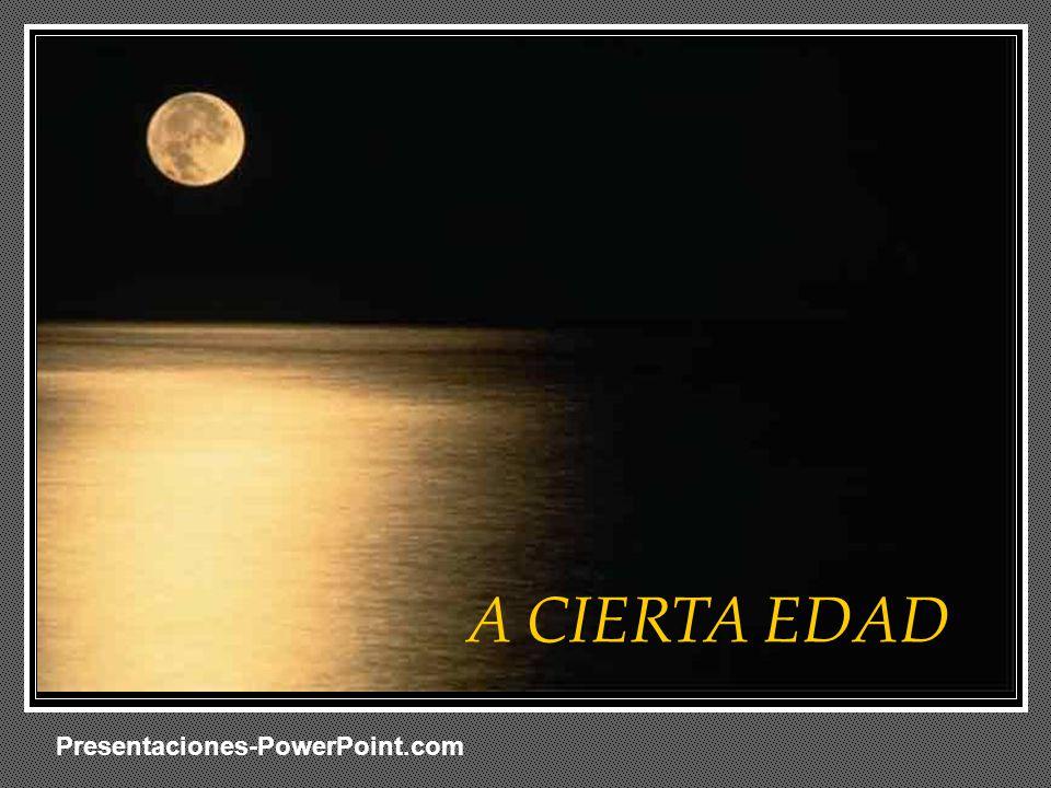 En blanco A CIERTA EDAD Presentaciones-PowerPoint.com