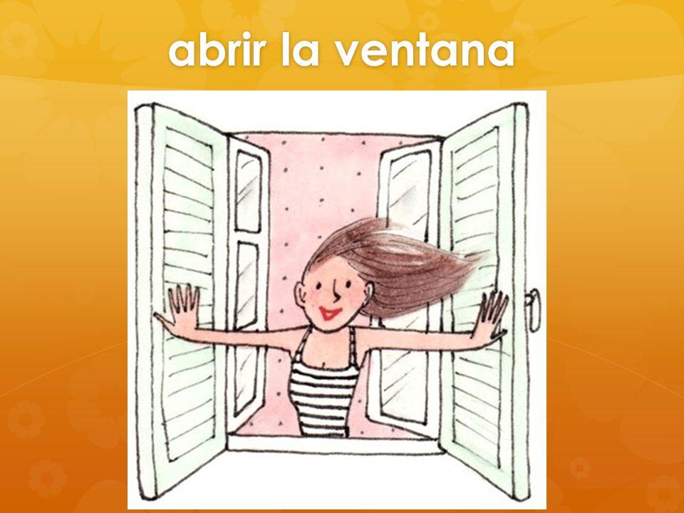 abrir la ventana