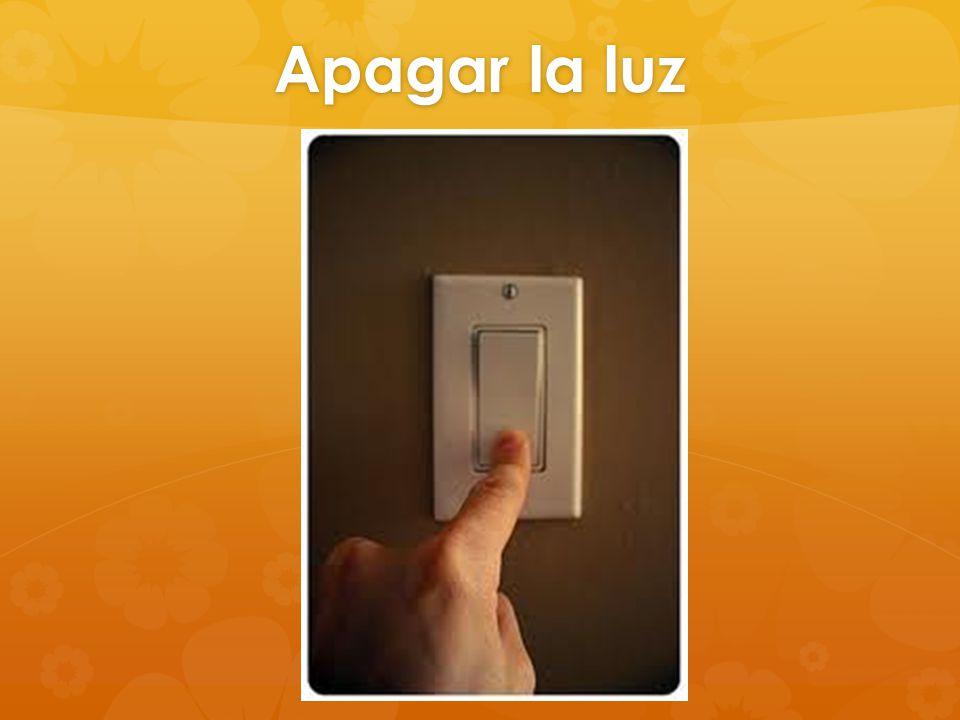 Apagar la luz