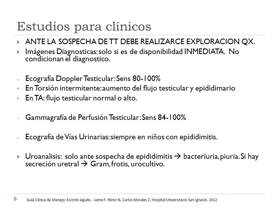 Estudios para clínicos