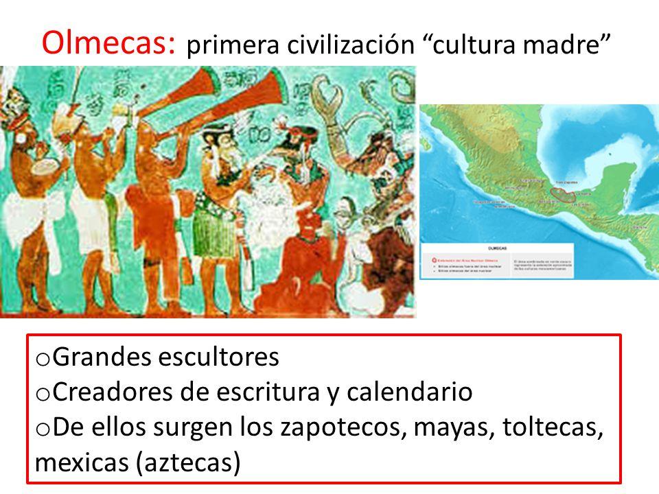 Olmecas: primera civilización cultura madre
