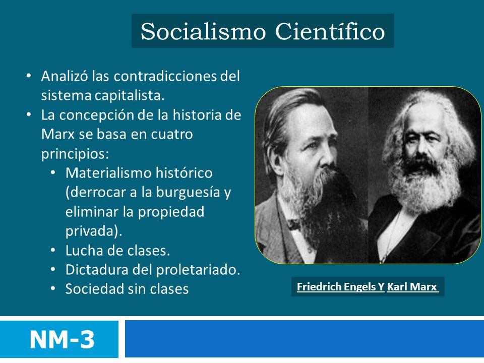 Resultado de imagen de socialismo cientifico