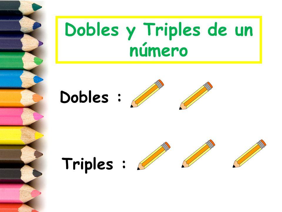 Dobles y Triples de un número