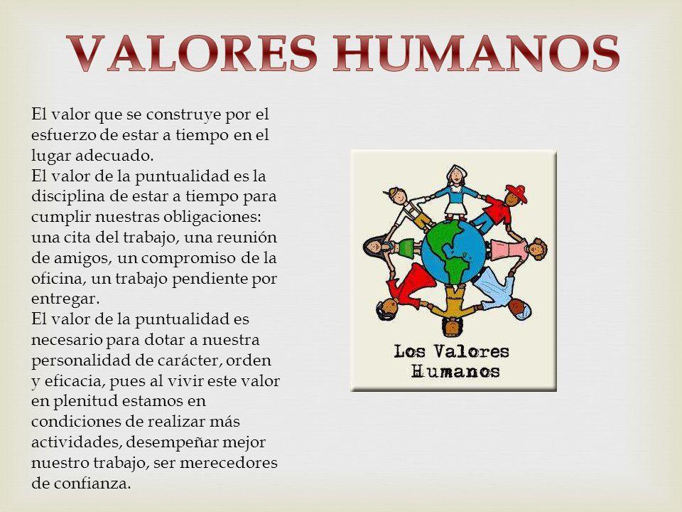 Valores Humanos: VALORES HUMANOS MARIA FERNANDA MUÑOZ.
