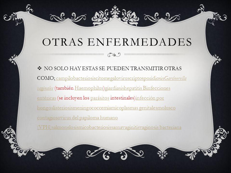 OTRAS ENFERMEDADES