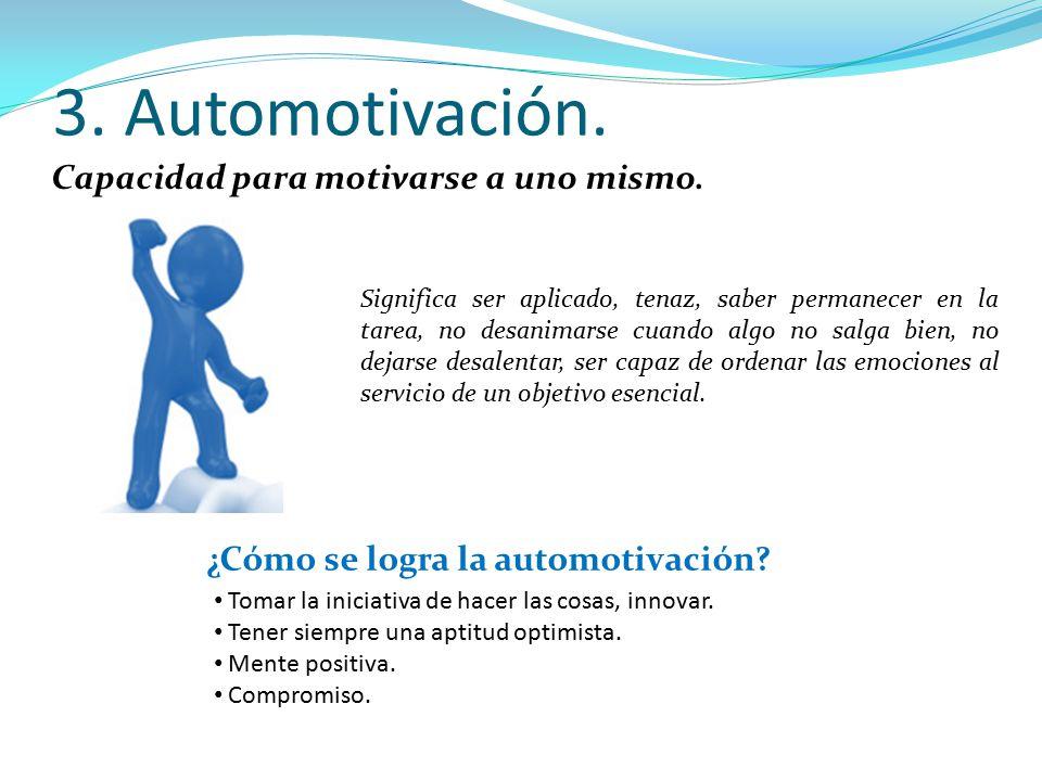 ¿Cómo se logra la automotivación