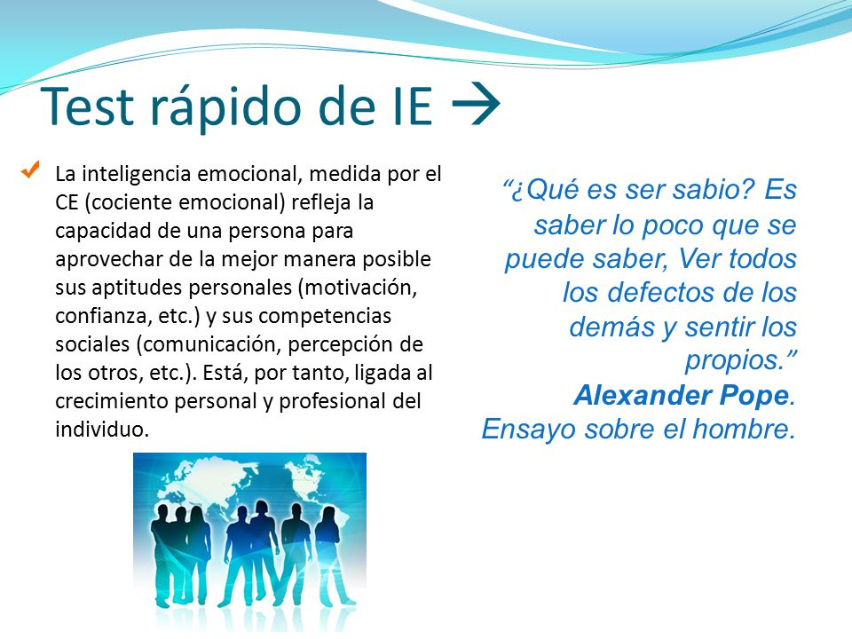 Test rápido de IE 
