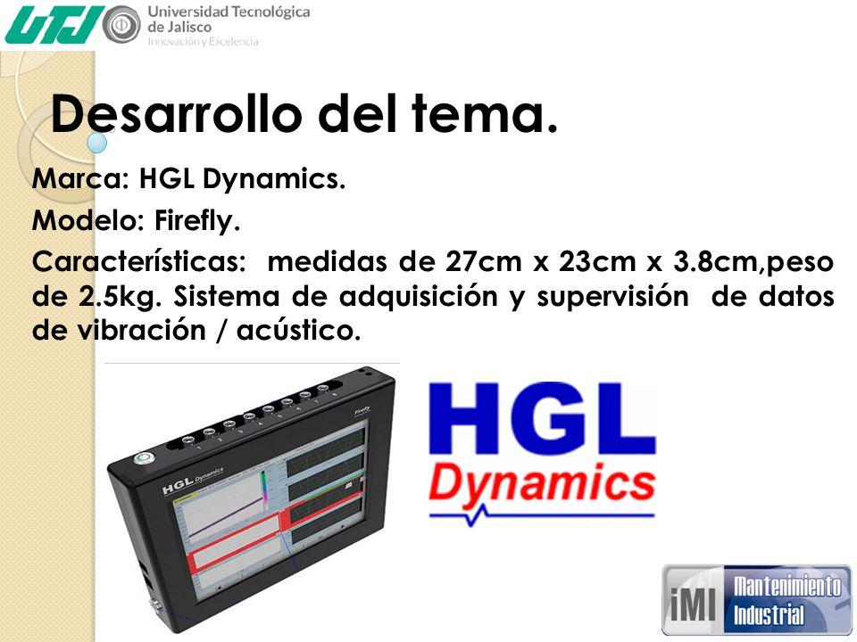 Desarrollo del tema. Marca: HGL Dynamics. Modelo: Firefly.