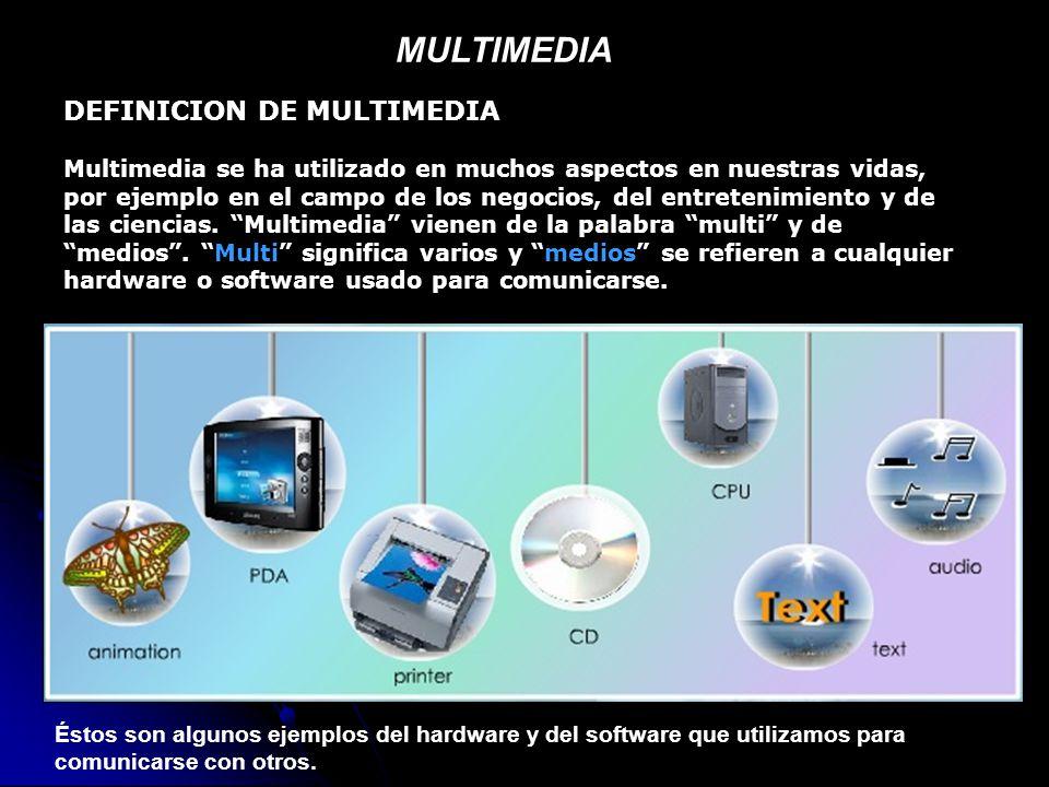 Multimedia definicion de multimedia ppt descargar - Definicion de multimedia ...