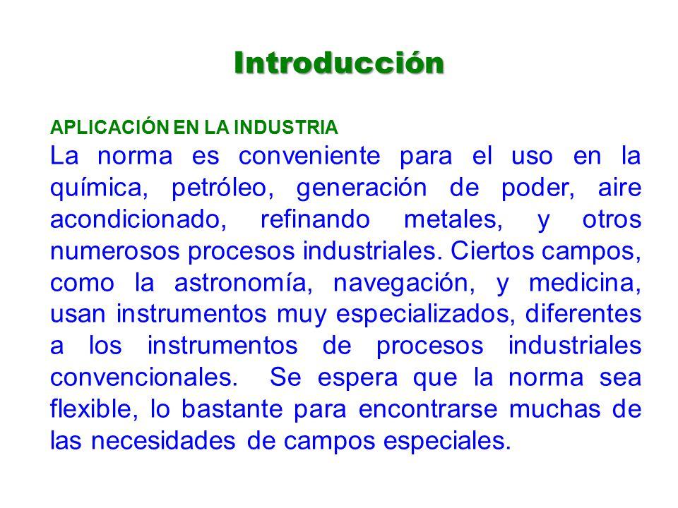Introducción APLICACIÓN EN LA INDUSTRIA.